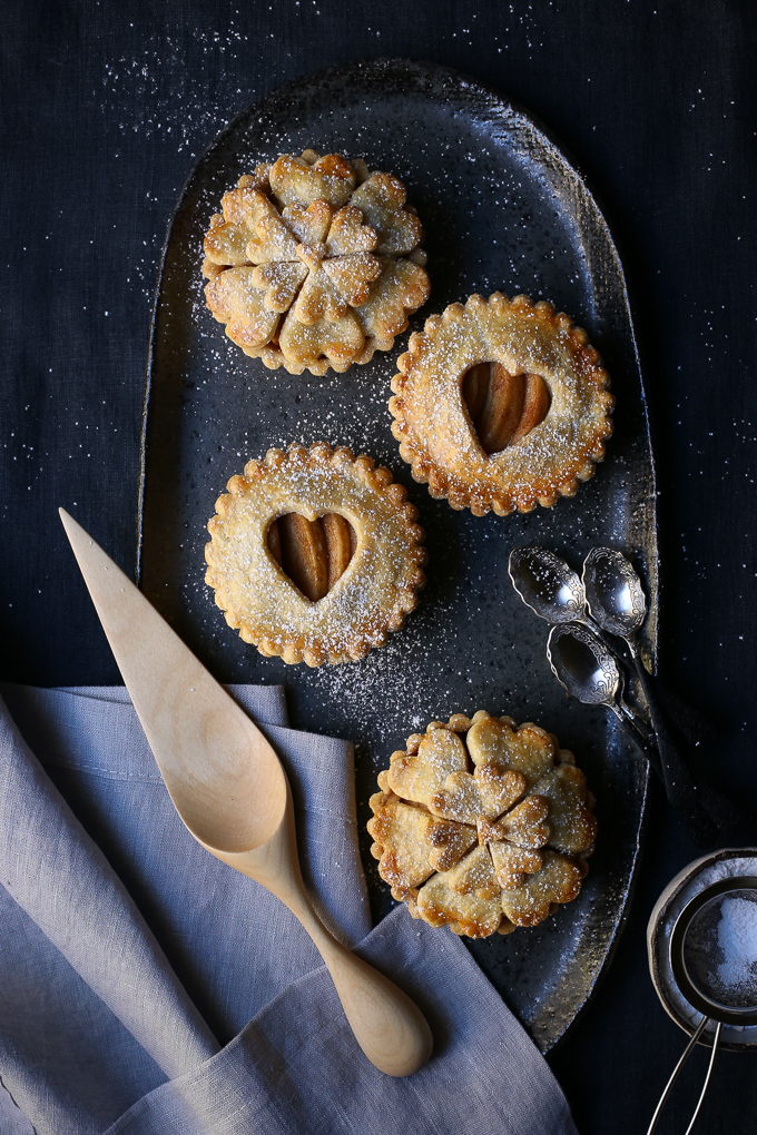 Spiced Maple Apple Pies   The Polka Dotter