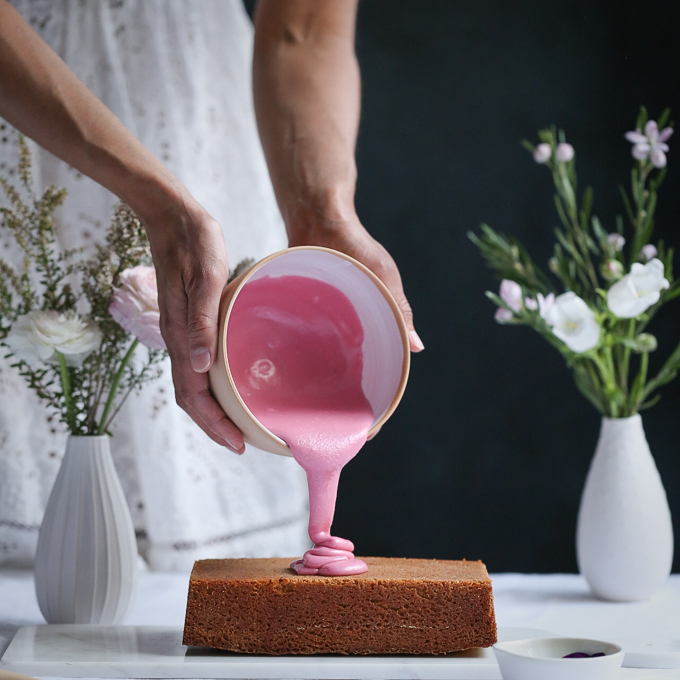 Persian Love Blood Orange Cake | The Polka Dotter