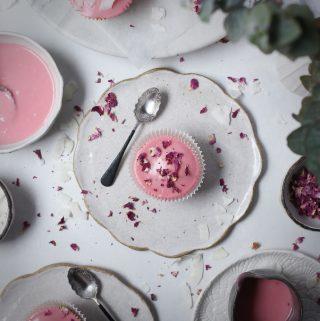 Vanilla Bean Cupcakes + Blood Orange Glaze | The Polka Dotter