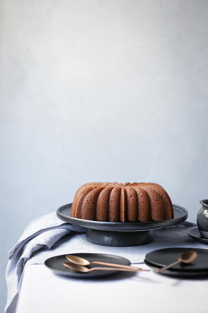 Lemon and Elderflower Syrup Cake   The Polka Dotter