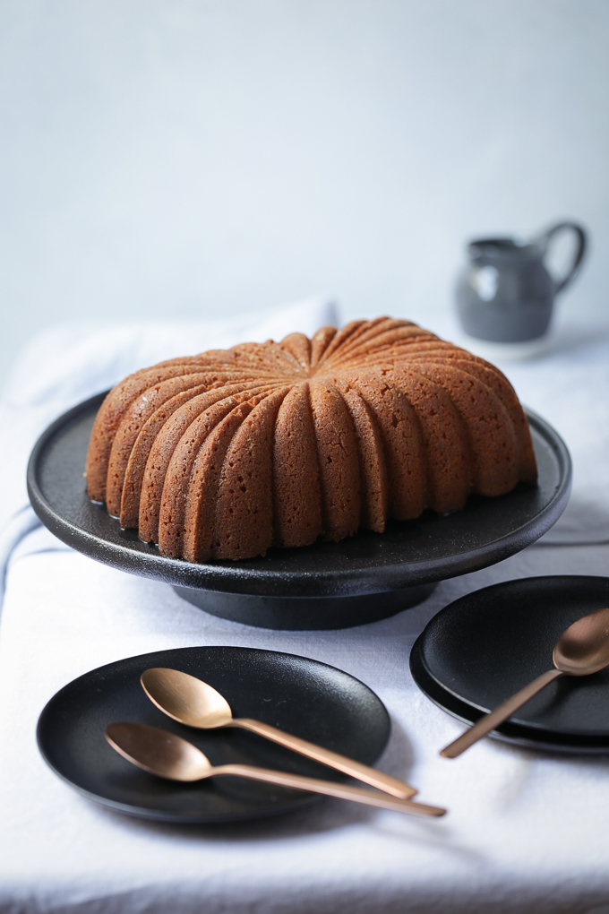 Lemon and Elderflower Syrup Cake | The Polka Dotter