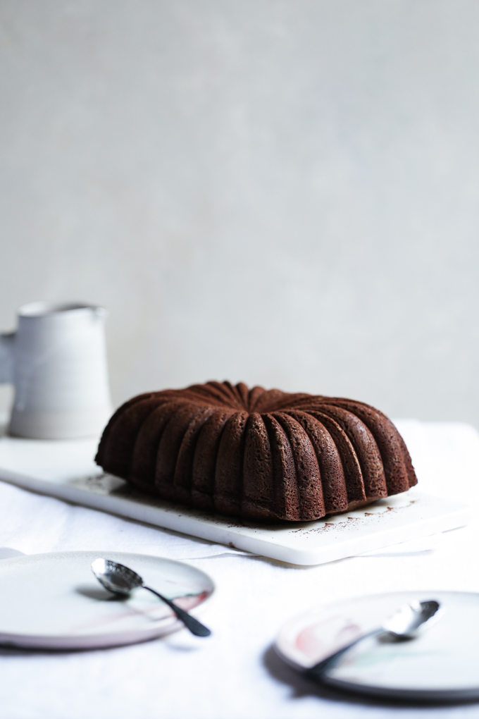Blood Orange Chocolate Cake | The Polka Dotter