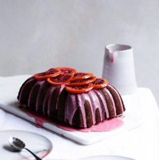 Blood Orange Chocolate Cake | The Polka Dotter