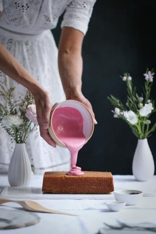 Persian Love Blood Orange Cake   The Polka Dotter