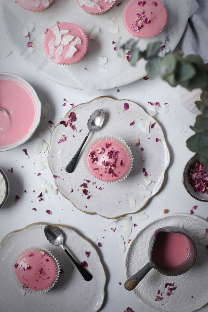 Vanilla Bean Cupcakes with Blood Orange Glaze   The Polka Dotter