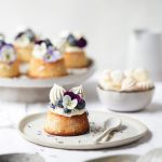 Lemon, Blueberry and Almond Teacakes | The Polka Dotter