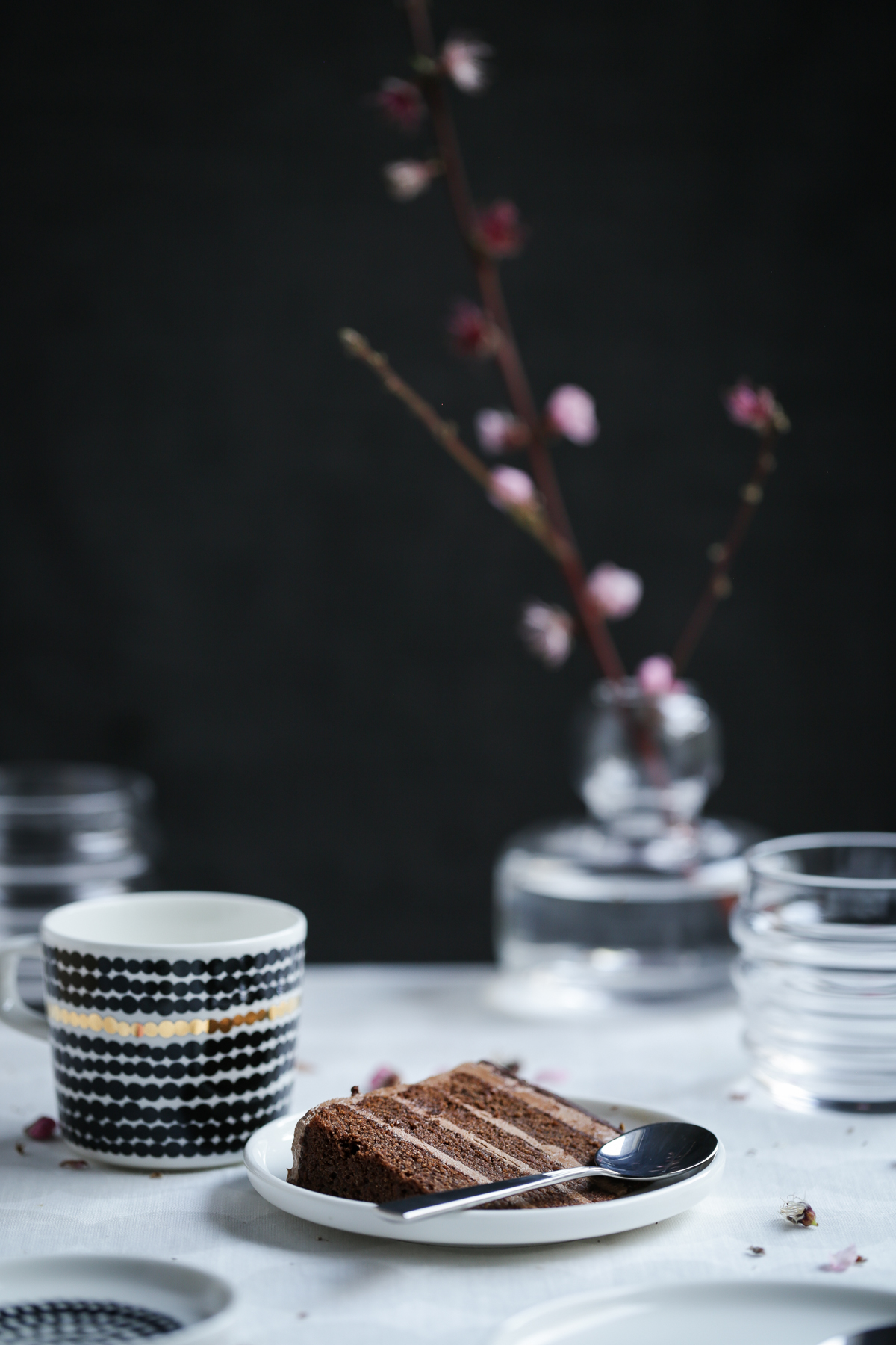 Chocolate Golden Honeycomb Cake | The Polka Dotter
