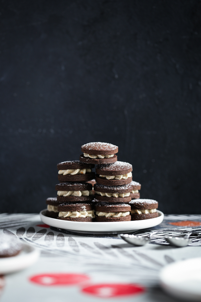 Chocolate Orange Gingerbread Cookies   The Polka Dotter