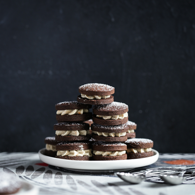 Chocolate Orange Gingerbread Cookies | The Polka Dotter
