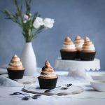 Coconut Meringue Cupcakes + Blood Orange Curd | The Polka Dotter
