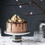 Chocolate Golden Honeycomb Cake | The Polka Dotter