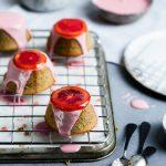 Blood Orange and Almond Teacakes {gluten-free} | The Polka Dotter