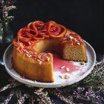 Blood Orange & Ginger Syrup Cake {gluten-free} | The Polka Dotter