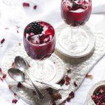 Blackberry Rose & Lime Mocktails | The Polka Dotter